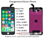 Changement d'écran iPhone